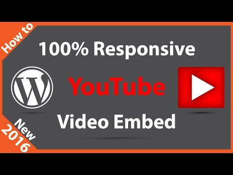 How to Embed a YouTube Video in WordPress - 동영상