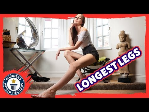 A day with the Longest Legs in the world! - Guinness World Records