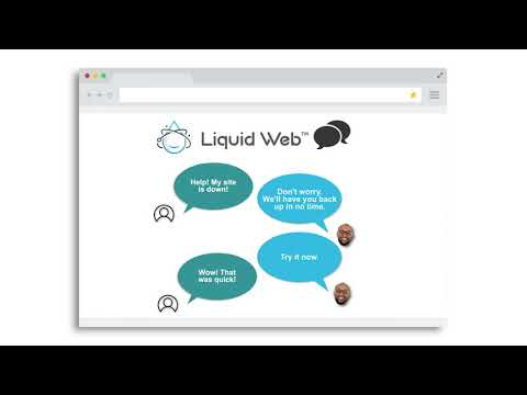 Liquid Web Support 15-second
