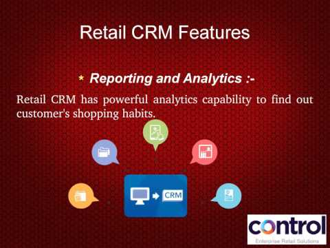 Customer Relationship Management | Retail CRM Software Solutions