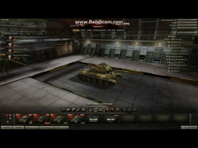 World of Tanks - T-34 Tier 5 Medium Tank - Quantity Has A Quality All Of Its Own.