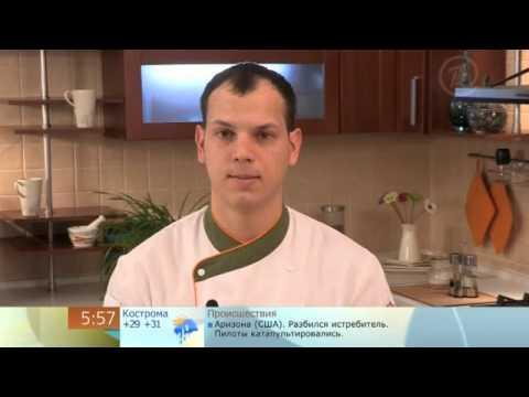 Первый канал  Доброе утро   фруктовое канапе