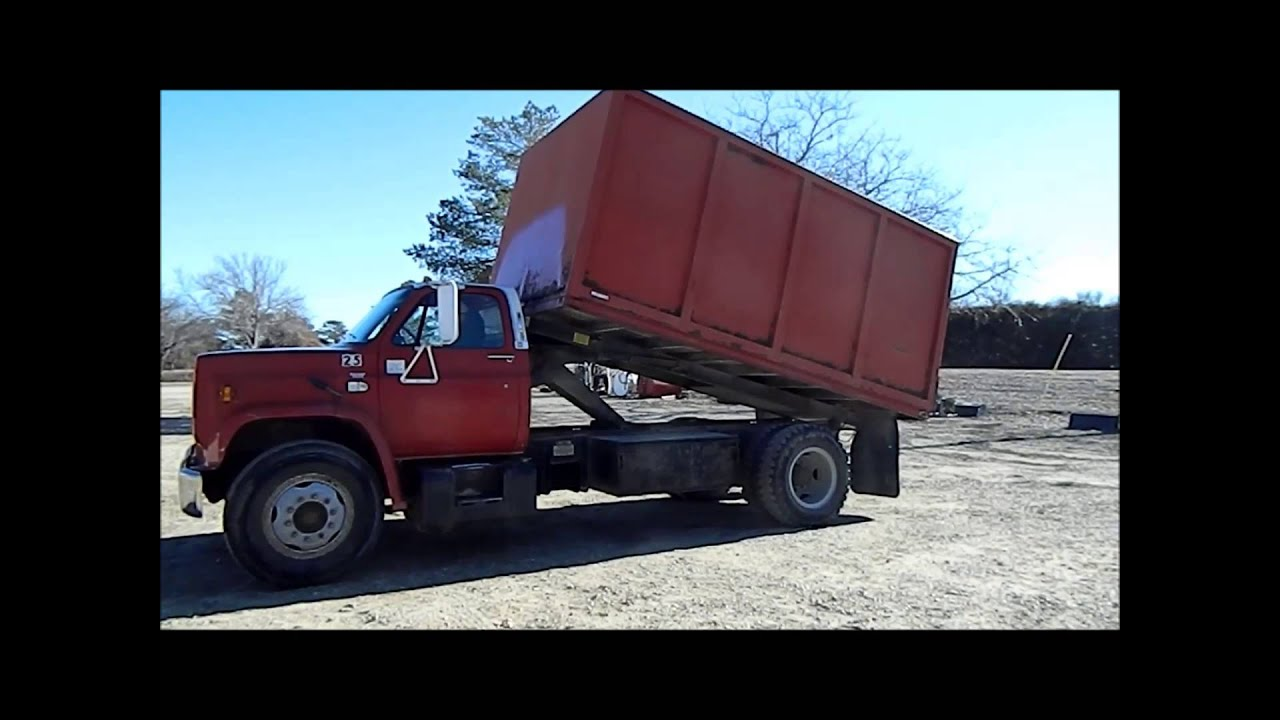 1989 chevrolet c70 dump bed truck for sale sold at auction march 28 2013