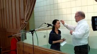 2013 Easter Baptismal Service復活節浸禮.