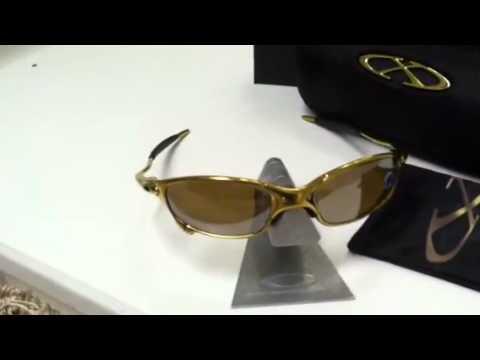 81eca45c1b Oakley Juliet 24k Gold plated - YouTube