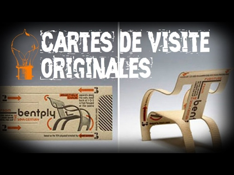 Les 30 Cartes De Visite Plus Originales