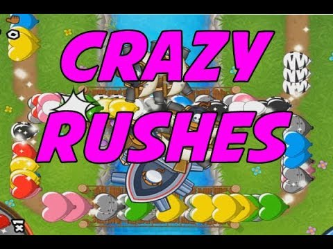 BFB Colosseum - CRAZIEST RUSHES - Bloons TD Battles