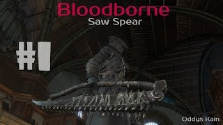 Bloodborne Пила Штык полное прохождение с нуля 1080p 60fps 1