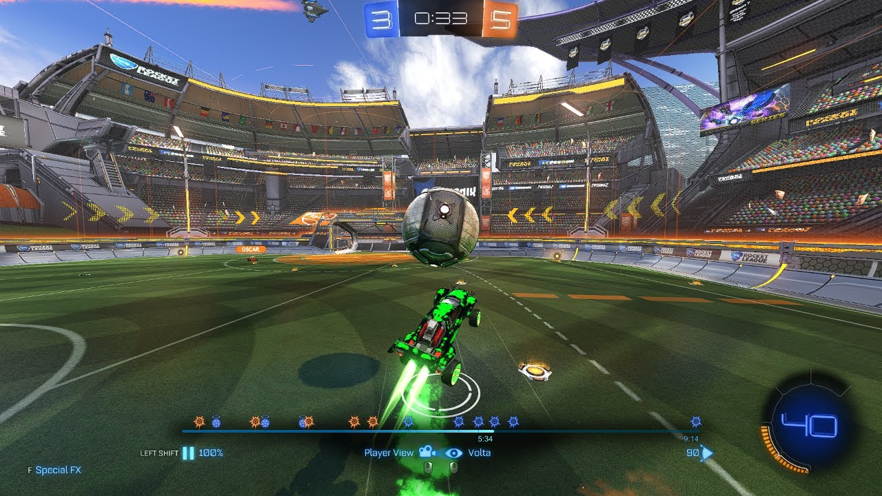Rocket league | Carrying my teammate and making such a great comeback!‎