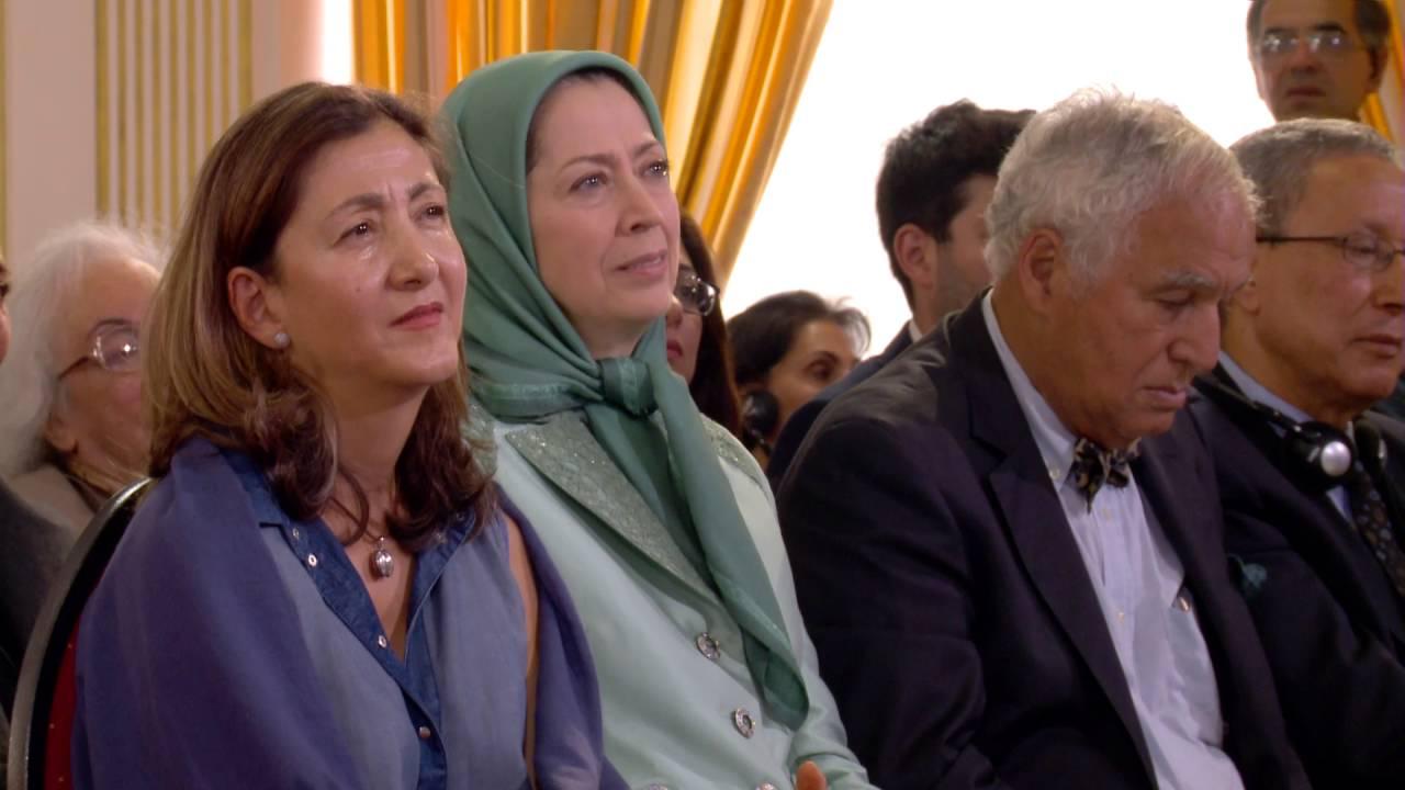 Les Moudjahidine du peuple venant de Liberty sont l'espoir de l'Iran (Alejo Vidal Quadras)