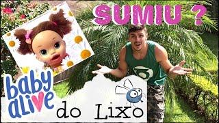 Baby Alive ABANDONADA NO LIXO DESAPARECEU! PARTE 6 PETER TOYS