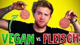 Vegan/Vegetarisch vs. Fleisch - Der Blinde Test!