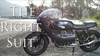Cafe Racer (Moto Guzzi V7 Stone by Brad Bennett)