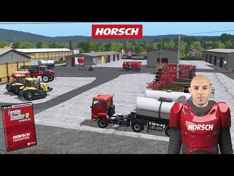 FARMING SIMULATOR 17 | FREE HORSCH AGROVATION DLC - ALEXFARMER
