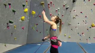 How to Lead Climb at Hoosier Heights Indianapolis