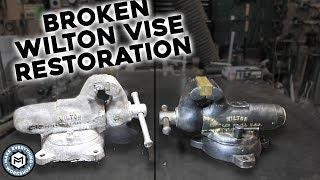 Vise Restoration - Broken Wilton Bullet
