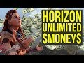 watch he video of Horizon Zero Dawn UNLIMITED MONEY SPOT FOUND (also New game plus Ultra Hard) Horizon Zero Dawn Tips