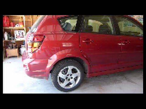 Pontiac Vibe / Toyota Matrix  Exhaust Heat Shield Repair Highlights  – Temporary Fix