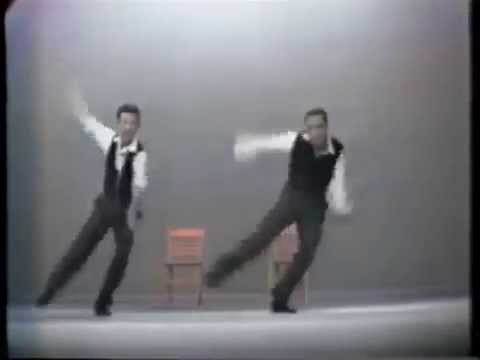 """Gene Kelly and Donald O'Connor dancing to Michael Jackson's """"Leave me Alone"""""""