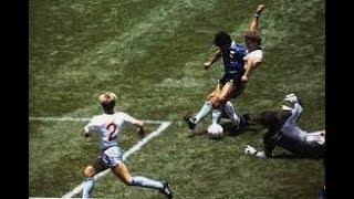 サッカー世紀の名勝負 アルゼン...