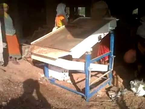 5 Hp Electric Motor >> Universal Vibratory Sand Screening Machine - YouTube