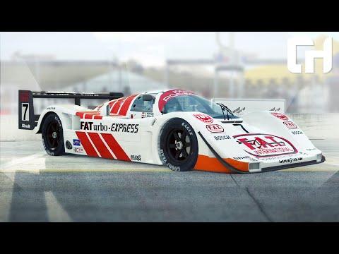 Appropriately Scary! RaceRoom Group C Nissan R90CK & Porsche 962