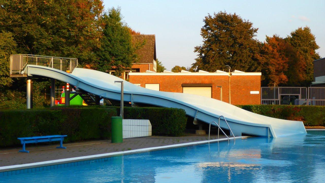 Schwimmbad Willich breitrutsche freibad large wave slide aqua sol kempen