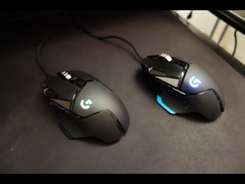 Logitech G502 HERO review - A new gaming mouse sensor - By TotallydubbedHD