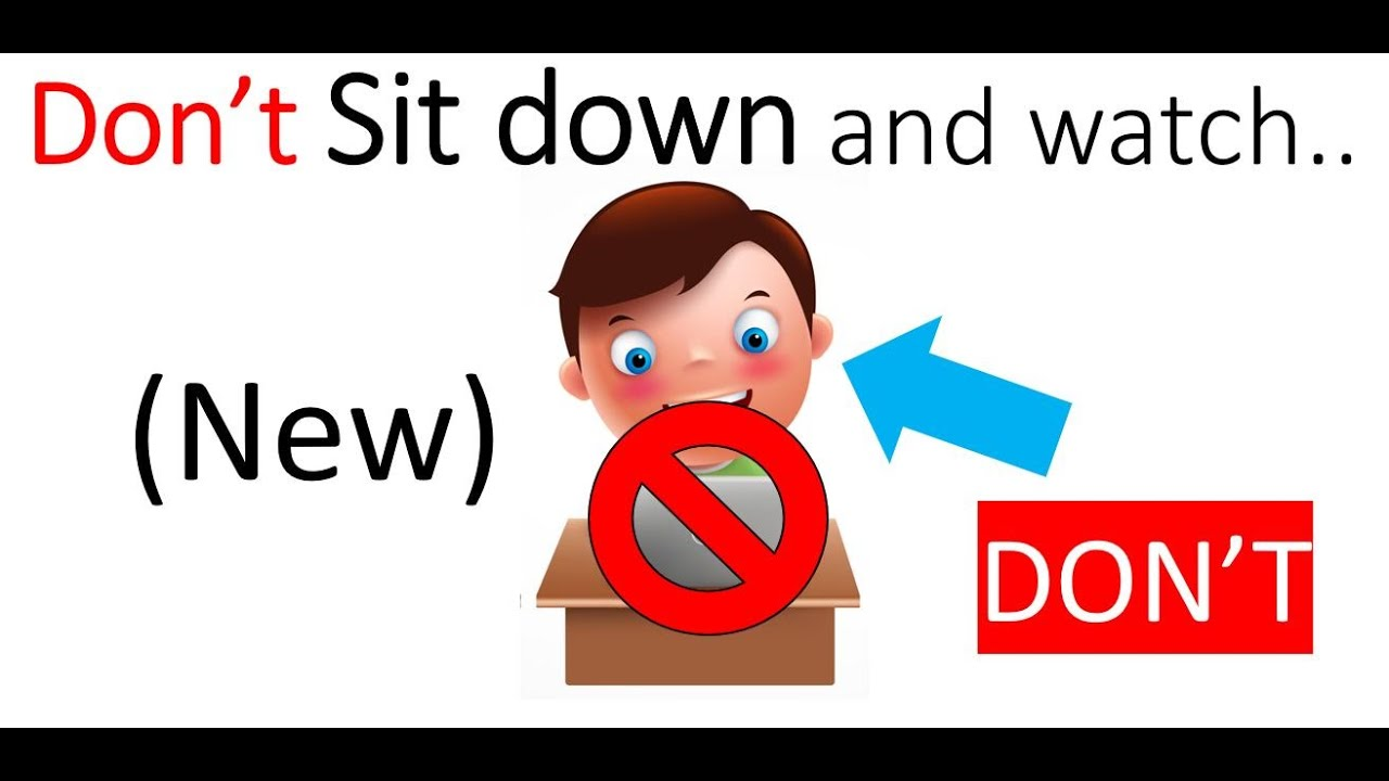 Watch this video without sitting down..