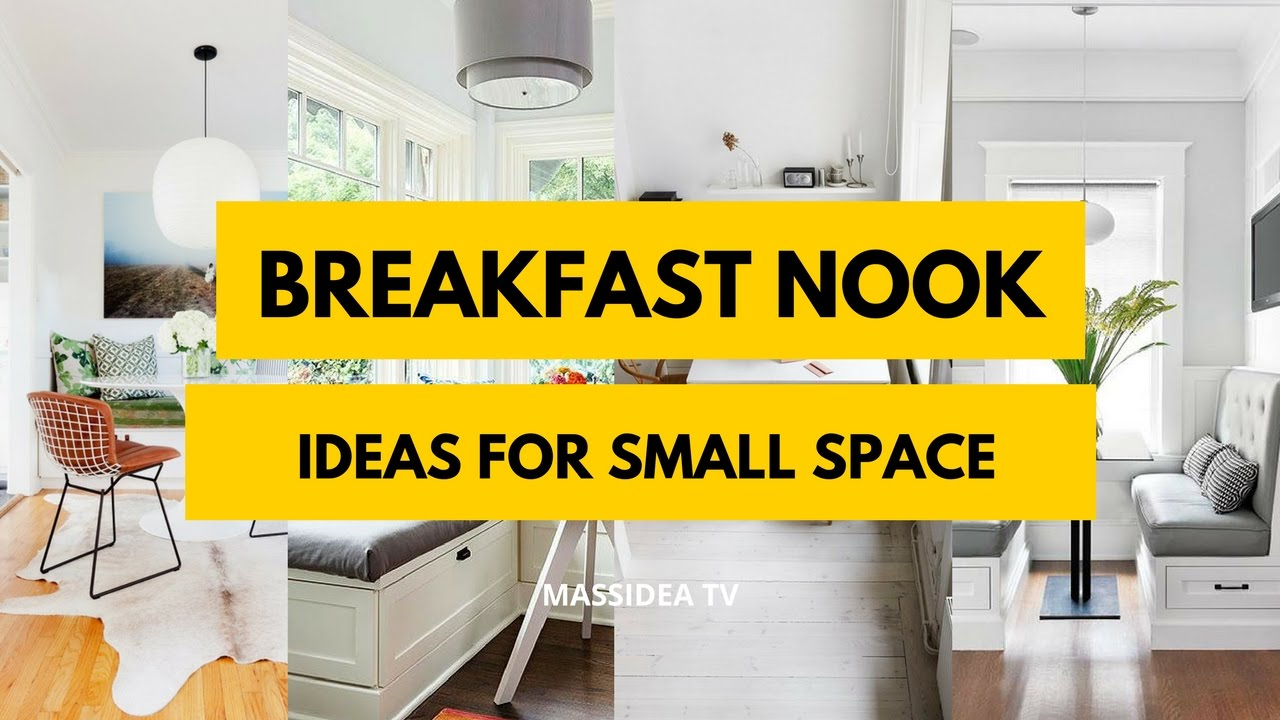 35 awesome breakfast nook ideas for small space 2017 - Breakfast Nook Ideas