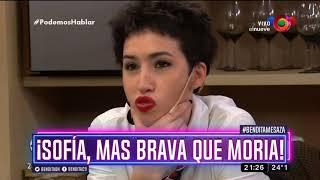¡Sofía, más brava que Moria!