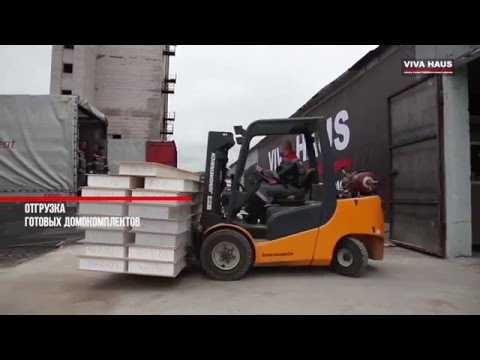 видео: Производство сип панелей viva haus