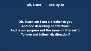 Oh, Sister (Bob Dylan) Cover by PLA Nov 27 2016