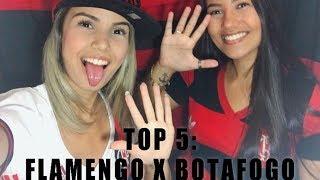 TOP 5 - CONFRONTOS | Flamengo x Botafogo