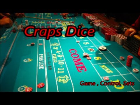 Craps Dice   Game, Control, Sets