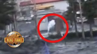 TSUNAMI  GHOST CREATURE CAUGHT ON TAPE - Real Or Fake?