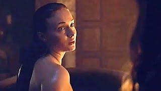 Game of Thrones/Juego de Tronos 5x6 LATINO El baño de Sansa Stark en Invernalia