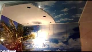 Натяжные потолки во всей квартире в Южном Бутово