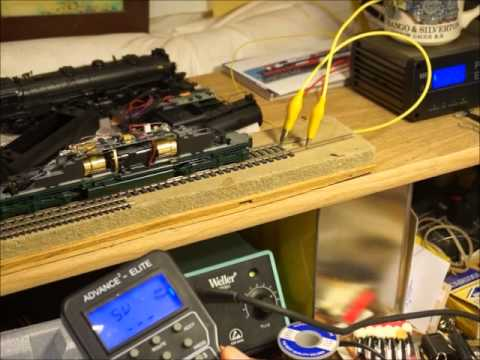 07 Model Trains - MRC 1930 Drop-In Decoder Installation -Testing the Installation