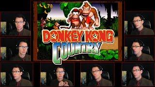 Donkey Kong Country - Main Theme and DK Island Swing Acapella