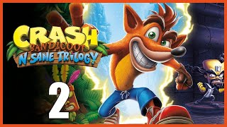 Crash Bandicoot N Sane Trilogy Part. 2 Levels 4-6