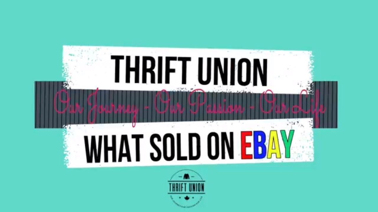 Top 20 Items That Sold Selling On Ebay Canada Youtube