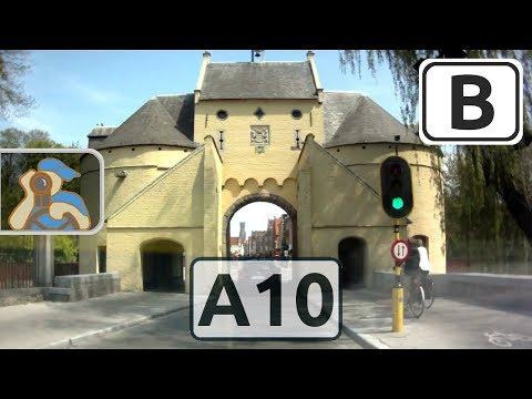 België. A10 (E40). [ Gent - Brugge ]