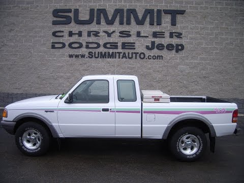 1997 USED FORD RANGER STX 4X4 FOR SALE IN FOND DU LAC $5,999 SOLD! 7T411A www.SUMMITAUTO.com