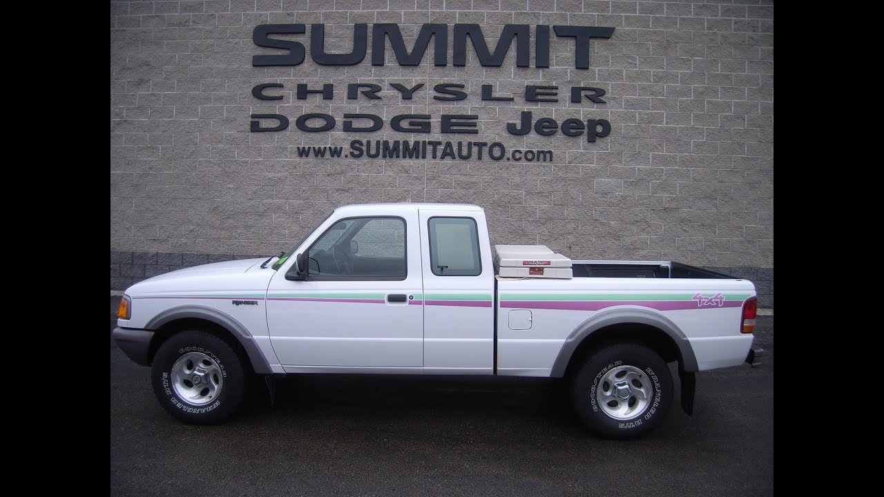 Used Ford 4x4 Trucks For Sale >> 1997 Used Ford Ranger Stx 4x4 For Sale In Fond Du Lac 5 999 Sold 7t411a Www Summitauto Com