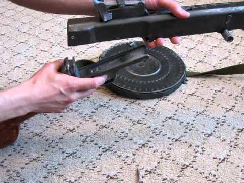 Макет пулемета Дегтярева