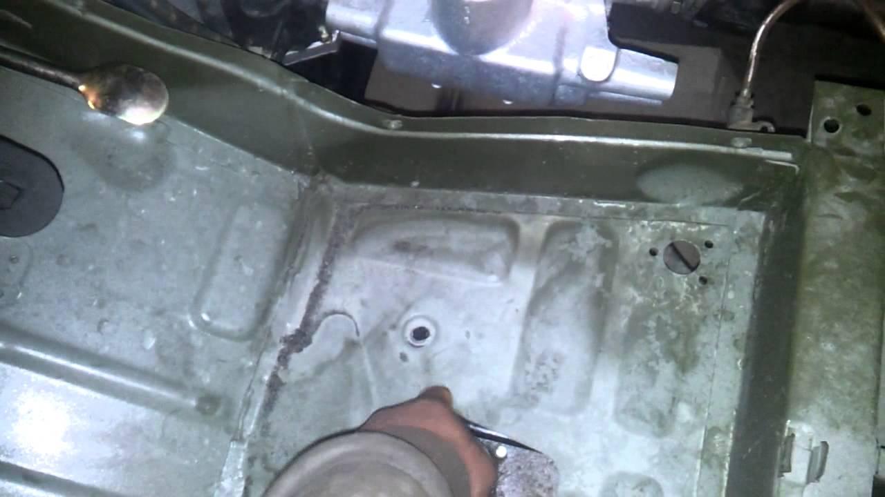 собираем газ 69 - Установил кузов на раму