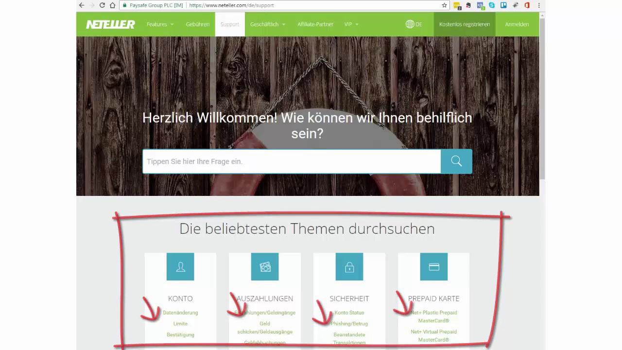 Netteller Deutsch