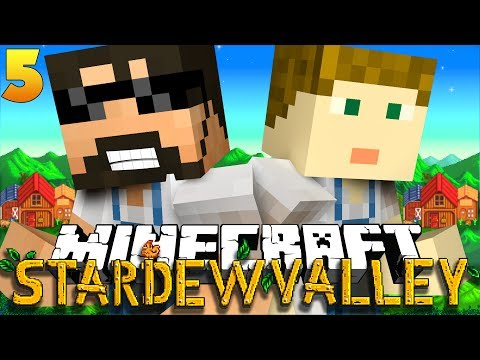 Download Minecraft: STARDEW VALLEY | CHICKENS ON OUR HEAD?! #5 Pictures