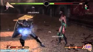 Mortal Kombat 9 Raiden Combos MK9 Raiden
